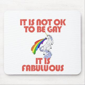 No es muy bien ser gay. Es fabuloso Tapete De Ratón