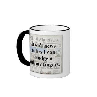 No es noticias…. taza de dos colores