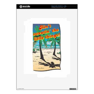 NO ES SWEATIN iPad 2 SKINS