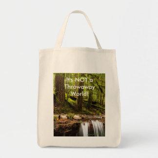 No es un bolso de ultramarinos desechable de no. 2 bolsa tela para la compra