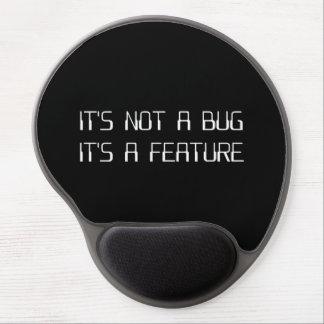 No es un insecto de la codificación que es una alfombrilla de raton con gel