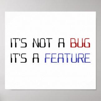 No es un insecto de la codificación que es una car póster