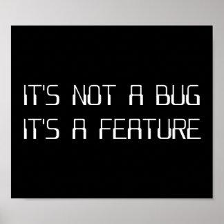 No es un insecto de la codificación que es una póster