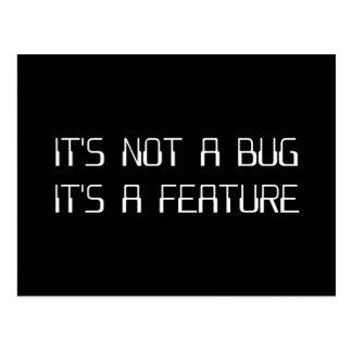 No es un insecto de la codificación que es una tarjetas postales