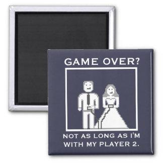 """No es un """"juego sobre"""" con mi imán del jugador 2"""