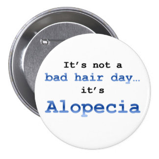 No es un mún día del pelo… que es alopecia pin