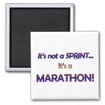 No es un Sprint… 2 Imanes Para Frigoríficos
