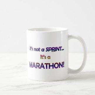 No es un Sprint… 2 Taza De Café