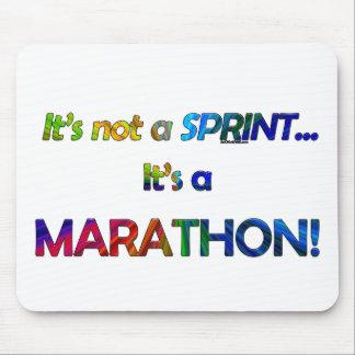No es un Sprint… Alfombrillas De Ratón
