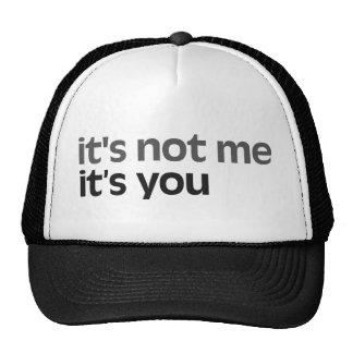 No es yo que es usted gorra