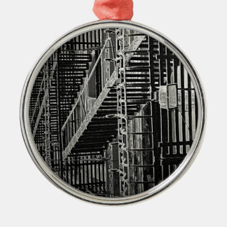 No Escape Grunge Urban Metal Ornament