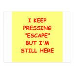 no escape postcard