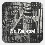 No Escape Sticker