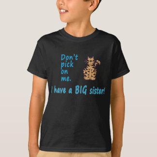 No escoja el tigre de pequeño Brother Playera