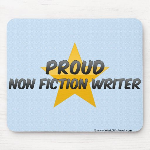 No escritor orgulloso de la ficción alfombrilla de ratón