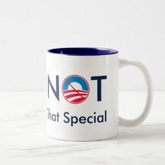 No ese especial (Obama) Taza De Café De Dos Colores