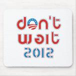 No espere 2012 tapete de ratones