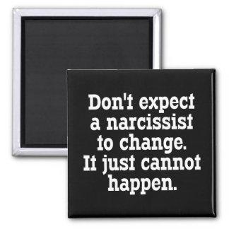 No espere que un Narcissist cambie… Imán Cuadrado