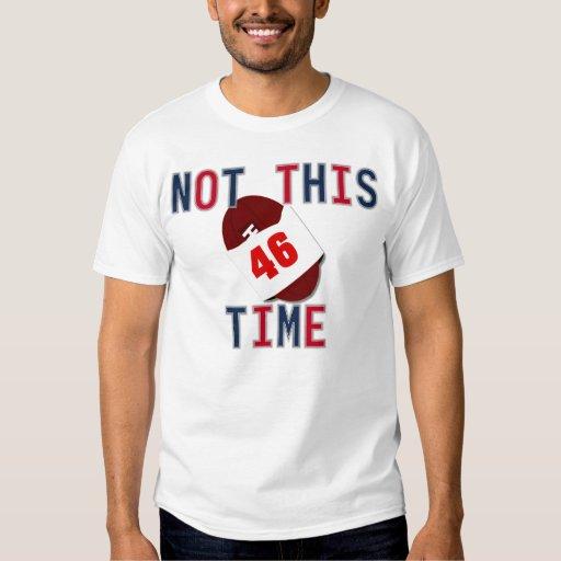 No esta camiseta del vez playera