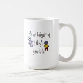No está cuid losando nin¢os taza