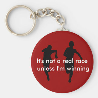 No estamos corriendo una carrera real a menos que  llavero personalizado
