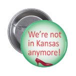 No estamos en el botón de Kansas más Pin