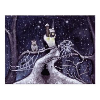 No estará mucho antes de que el navidad/la bruja tarjetas postales