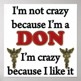 No estoy loco poster