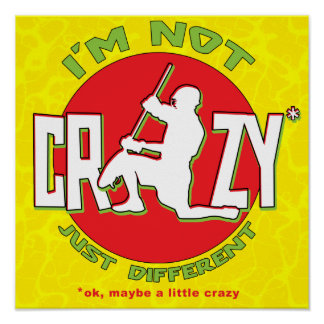 No estoy loco, poster del portero de LaCrosse