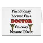 No estoy loco tarjeta