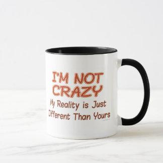 No estoy loco taza