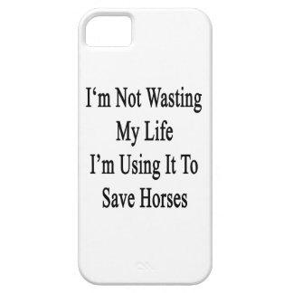 No estoy perdiendo mi vida que lo estoy utilizando iPhone 5 carcasa