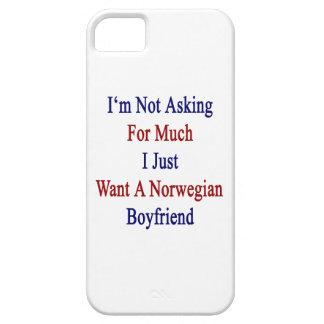 No estoy pidiendo mucho que apenas quiero a BO iPhone 5 Funda