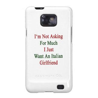 No estoy pidiendo mucho que apenas quiero un Gir Samsung Galaxy S2 Funda