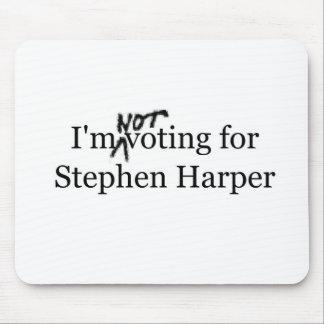 No estoy votando por Stephen Harper Alfombrilla De Raton