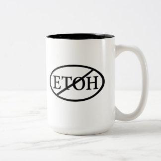 No ETOH Two-Tone Coffee Mug