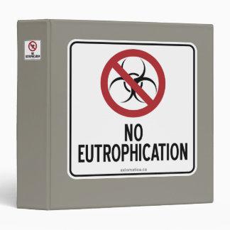 NO EUTROPHICATION 3 RING BINDER