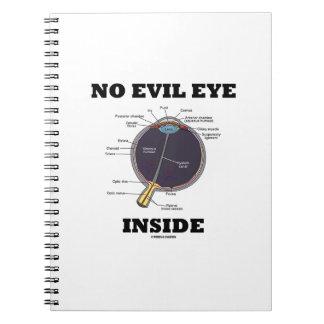 No Evil Eye Inside (Anatomical Eyeball Humor) Note Book
