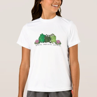 No Evil Frogs  | Cartoon T-Shirt