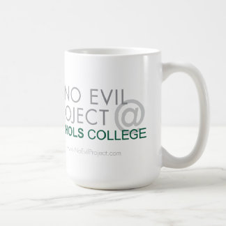 No Evil Project @ Nichols College Mug - Exhibit