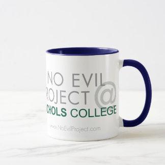 No Evil Project @ Nichols College Mug - Monkey