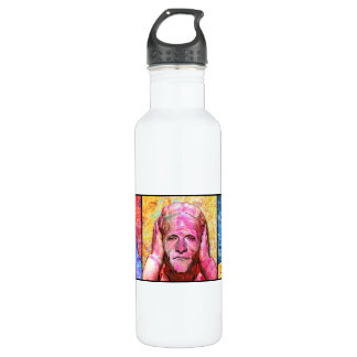 No Evil Stainless Steel Water Bottle