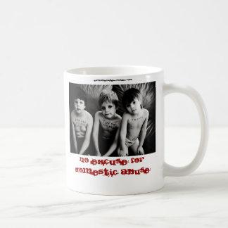 No Excuse for Domestic Abuse Mug