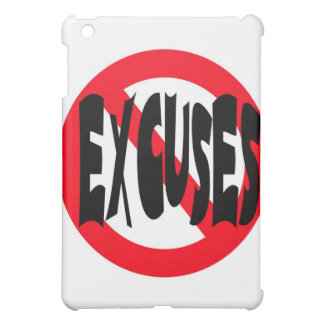 NO EXCUSES CASE FOR THE iPad MINI