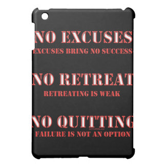 No Excuses. Cover For The iPad Mini