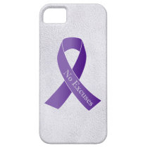 No Excuses for Abuse Domestic Violence Verbal iPhone SE/5/5s Case