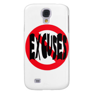 NO EXCUSES GALAXY S4 COVERS