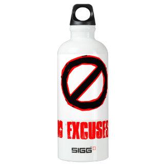 NO EXCUSES SIGG TRAVELER 0.6L WATER BOTTLE