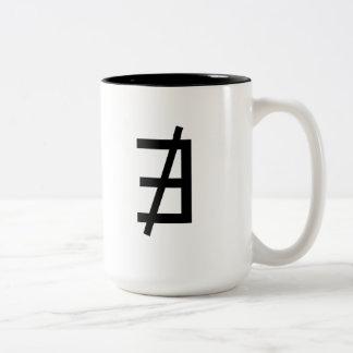 No existe taza dos tonos