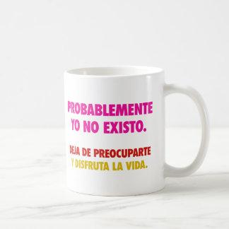 No existo mugs